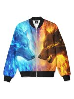 Fire and Ice Bomber Jacket