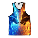 Fire and Ice Unisex Tank
