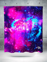 Galaxy 2.0 Shower Curtain