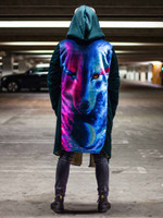 Galaxy Wolf Dream Cloak
