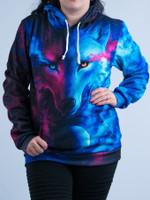 Galaxy Wolf Unisex Hoodie
