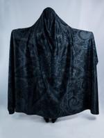 Ghost Mandala Hooded Blanket