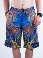 Gold Boho Shorts
