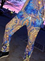 Gold Boho Unisex Pajama Pants