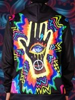 Hand of the Universe Back Panel Unisex Hoodie