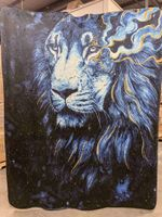 In The Darkness Lion Blanket