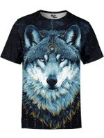 Into The Darkness Wolf Unisex Shirt