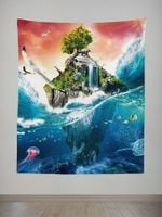Island Of Life Tapestry