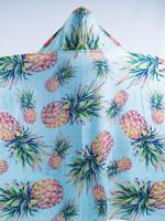 Kids Pastel Pineapple Hooded Blanket