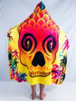 Kids Pineapple Daze Hooded Blanket