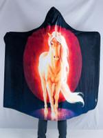 Last Unicorn Hooded Blanket