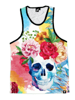 Life and Death Unisex Tank Top
