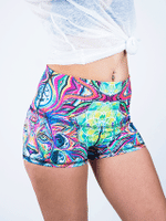 Lunar Lion Yoga Shorts