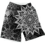 Mandala Bloom Shorts