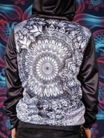 Mandala Bloom V2 Back Panel Unisex Hoodie
