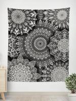 Mandala Bloom V2 Tapestry