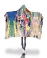Merlins Meditation Hooded Blanket