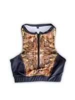 Midas Zip Up Sports Bra