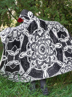 Moonlight Mandala Hooded Blanket