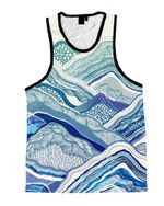Mountain Vibes Unisex Tank Top