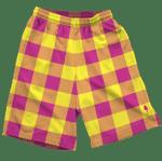 Neon Pink & Yellow  Shorts