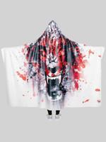 On the Hunt Hooded Blanket
