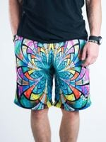 Optical Stained Glass Shorts