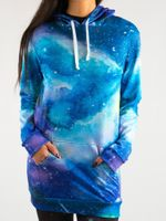 Painted Galaxy Hooded Dress