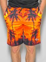 Palm Tree Sunset Shorts