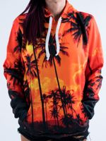 Palm Tree Sunset Unisex Hoodie