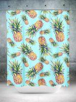Pastel Pineapple Shower Curtain