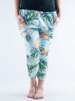 Pastel Pineapple Unisex Pajama Pants