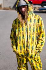 Pineapple Adult Onesie