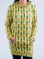 Pineapple Hooded Dress