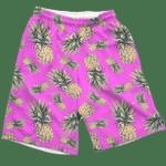Pink Pineapple Shorts