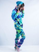 Power and Peace Adult Onesie