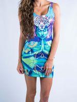 Power and Peace Mini Dress