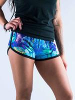 Power and Peace Women's Retro Shorts