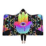 PsyHamsa Hooded Blanket
