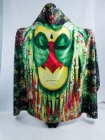 Rasta Rafiki Hooded Blanket