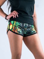 Rasta Rafiki Women's Retro Shorts