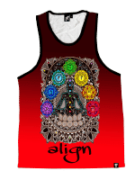 Red Align Unisex Tank Top