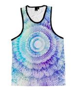 Rose Magic Mandala Unisex Tank Top