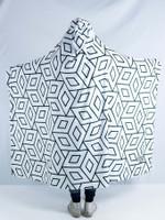 Sacred Geo Hooded Blanket