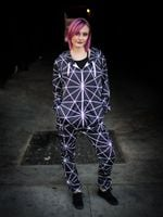Schism Black Adult Onesie