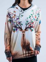 Seasons Unisex Hooded Long Sleeve Shirt