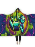 Sloth Life Hooded Blanket
