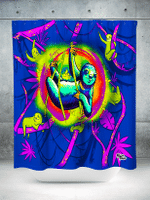 Sloth Life Shower Curtain