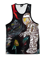 Space Cadet Unisex Tank Top
