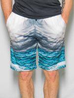 Stormy Ocean Shorts